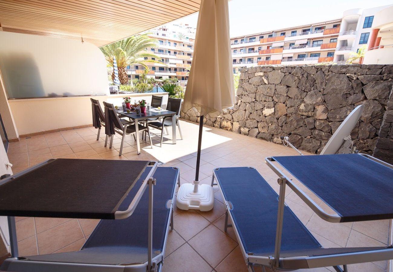 Apartamento en Puerto de Santiago - Balcon Los Gigantes B09 FREE WIFI