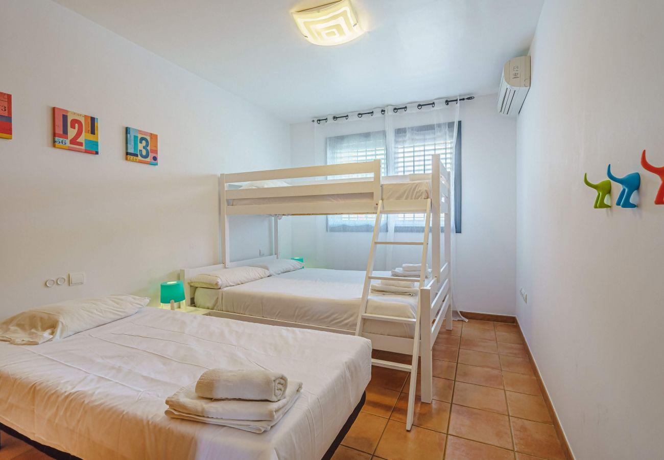 Apartamento en Playa Paraiso - Paraiso II La Casa Paradise FREE WIFI