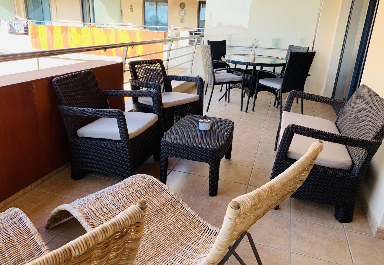 Apartamento en Puerto de Santiago - Balcon Los Gigantes MC FREE WIFI